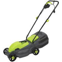 Kinzo Garden elektrische grasmaaier - 1100W - opvangbak van 30l