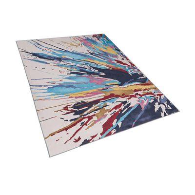 Beliani KARABUK Vloerkleed  Polyester 160 x 200 cm,