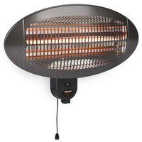 Tristar Terrasverwarmer wandmontage KA-5286 2000 W Quartz zwart