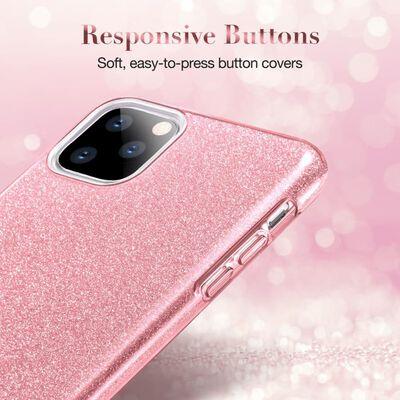 ESR - Apple iPhone 11 Pro Max - Makeup Glitter - Licht roze