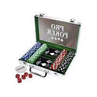 Tactic set fiches Pro Poker case 200 chips