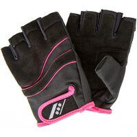 Rucanor fitness handschoenen Lara II dames zw/ro maat 7/8
