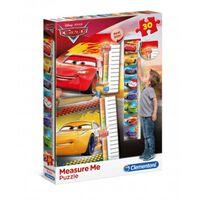 Clementoni puzzel meetlat Cars 30 stukjes