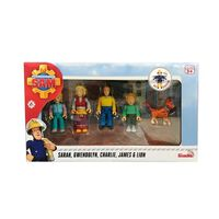 Fireman Sam Speelgoedfiguurset Jones Family