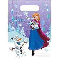 Disney feestzakjes Frozen 23 cm 6 stuks