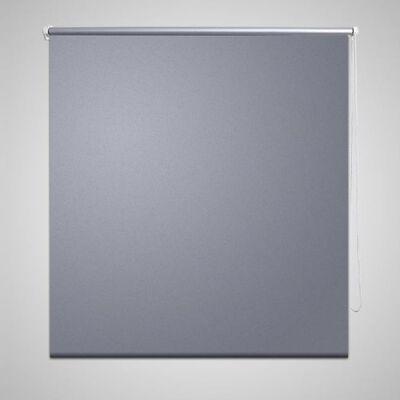 Rolgordijn verduisterend 120 x 230 cm grijs