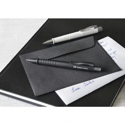 Balpen Faber Castell Polyball XB zwart