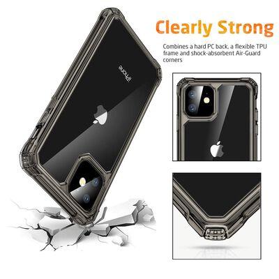 ESR - Apple  iPhone 11 - Air Armor - Donker transparant,