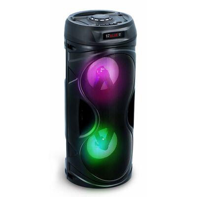 Dunlop Bluetooth Speaker - 2x 5 Watt - Multicolour LED