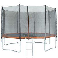 TRIGANO Trampoline met veiligheidsnet 366 cm