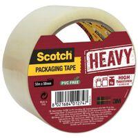 Scotch verpakkingsplakband Heavy, ft 50 mm x 50 m, transparant, per...