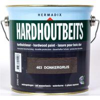 Hardhoutbeits 463 donker grijs 2500 ml