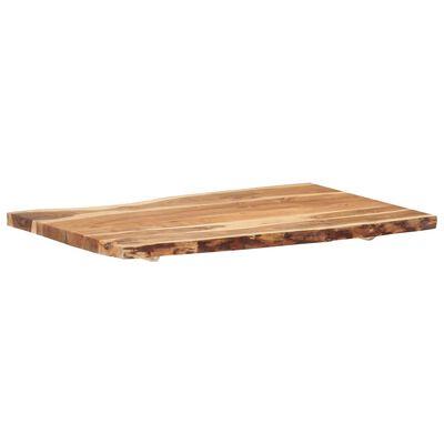 vidaXL Tafelblad 100x(50-60)x3,8 cm massief acaciahout