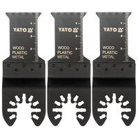 YATO 3-delige Zaagbladenset voor invalcirkelzaag