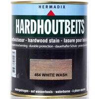 Hardhoutbeits 464 white wash 750 ml