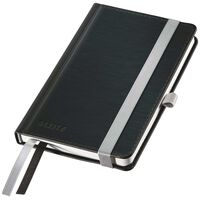 Leitz Notitieboek Style gelijnd A6 zwart