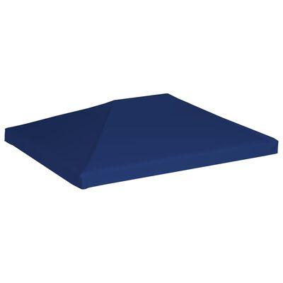 vidaXL Prieeldak 310 g/m² 4x3 m blauw
