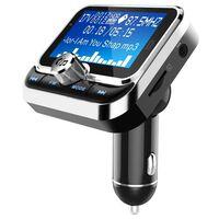 Bluetooth FM-zender en autolader met dubbele USB 2.4V