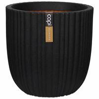 Capi Bloempot Urban Tube 43x41 cm zwart KBLT933