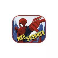 Marvel zonnescherm Spider-Man 2 stuks 45 x 36 cm + kleurplaat