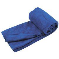 Travelsafe handdoek microvezel koningsblauw TS3101