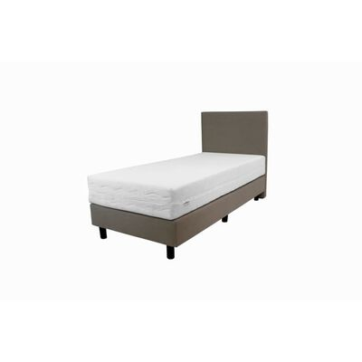 90x190 Boxspring 1 persoons Beige