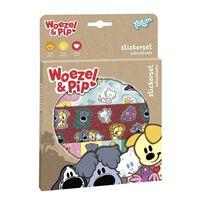 Totum Woezel & Pip Stickerset kindersticker