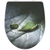 SCHÜTTE Toiletbril met soft-close RAINDROP duroplast hoogglans