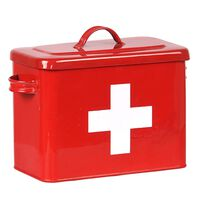 LABEL51 EHBO-koffer 30x14x21 cm rood