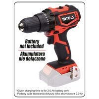 YATO Boor borstelloos zonder accu 18 V 42 Nm