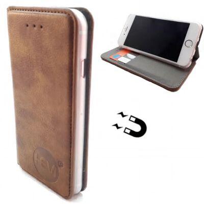 Apple Iphone 12 Pro - Bronzed Brown Ultra Dun Portemonnee Hoesje -