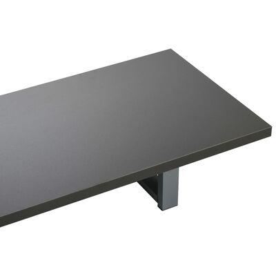 vidaXL 3-delige Badkamermeubelset keramiek grijs