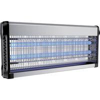 V-tac Vt-3240 Insectenlamp - 2*20w - 150m Bereik - Uv Licht - Grijs