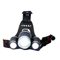 Grundig hoofdlamp - 3 lichtpunten - LED - 200 Lumen