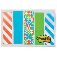 Post-it Index, Geos motief collectie, ft 11,9 mm x 43,2mm, 5 x 20 s...