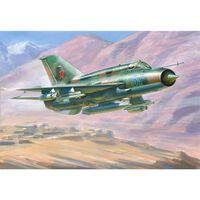 Zvezda - Mig-21 Bis Soviet Fighter (zve7259) - Model Speelgoed