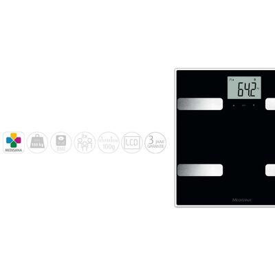 Medisana Lichaamsanalyseweegschaal BS A41 Connect zwart