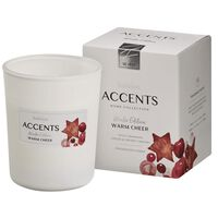 Bolsius Accents scented glass Warm Cheer