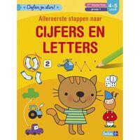 Deltas Oefen je slim! Allereerste stappen naar cijfers en letters (4-5
