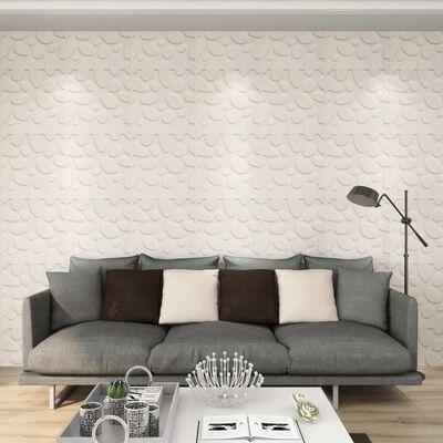 vidaXL 12 st Wandpanelen 3D 3 m² 0,5x0,5 m,