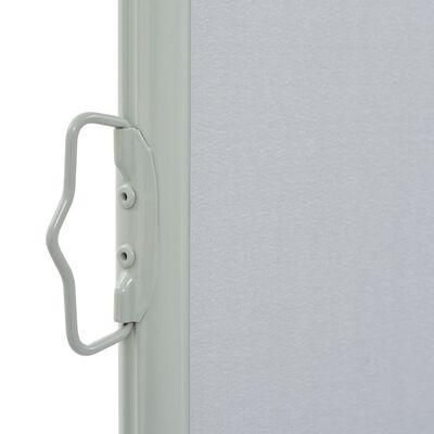 vidaXL Tuinscherm uittrekbaar 100x300 cm grijs
