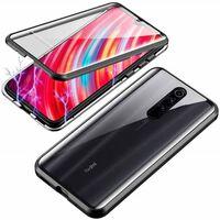 Mobiele hoes met dubbelzijdig gehard glas Xiaomi Redmi K20 / K20P - zw
