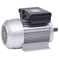 vidaXL Elektromotor 1 fase 1,5 kW/2 kp 2-polig 2800 rpm aluminium