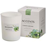 Bolsius Accents scented glass Garden Dreams