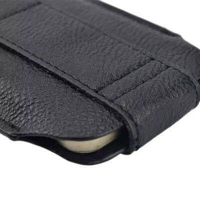 Hem Samsung Galaxy S21 Plus Zwart Insteekhoesje Met Riemlus En