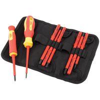 Draper Tools Geïsoleerde schroevendraaier en blad set 10-delig 05721