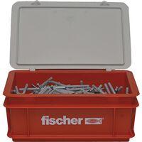 Fischer Nagelschroevenset met pluggen 300 st N6x80