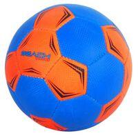 E&L Sports beachvoetbal oranje/blauw maat 5