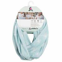 CuddleCo Voedingssjaal 2-in-1 Comfi Love Infinity groen