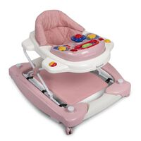 """Baninni 2-in-1 Baby Walker """"Classic"""" Pastel Pink"""